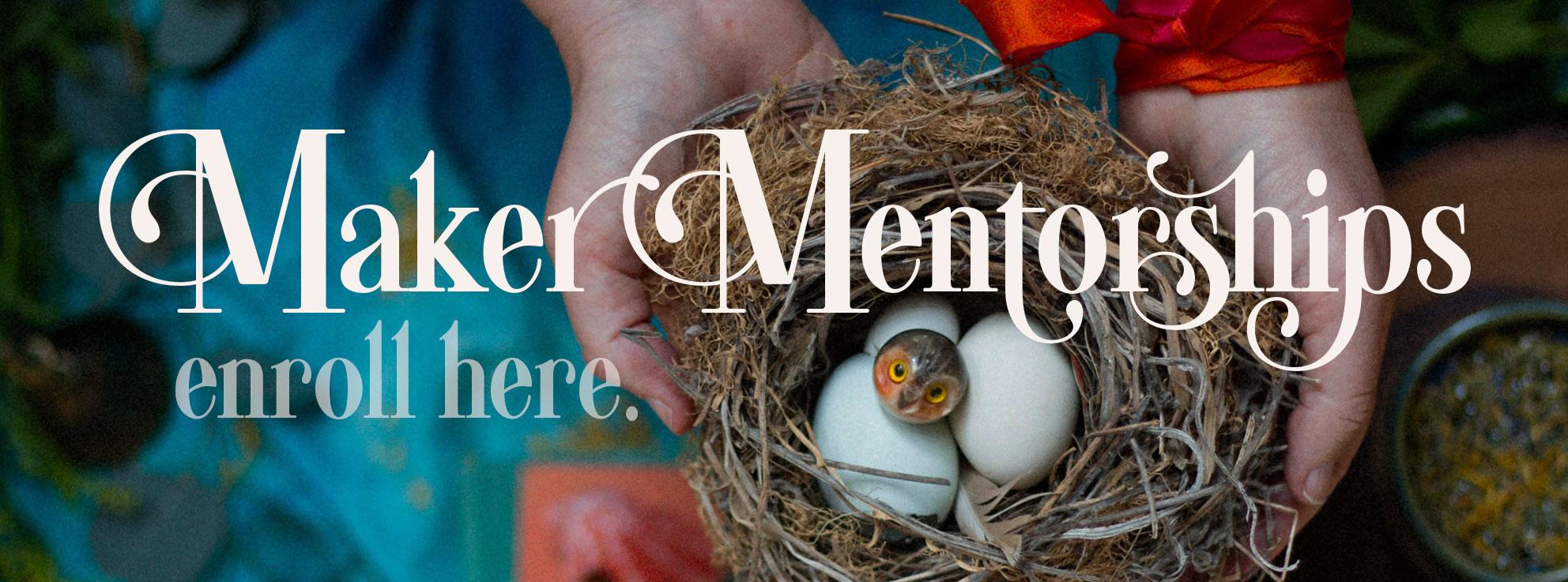 Enroll for Maker Mentorships